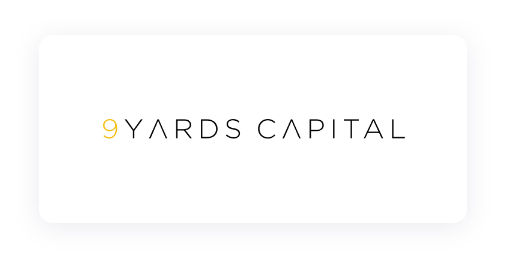 Logo of 9 Yards Capital, one of our investors