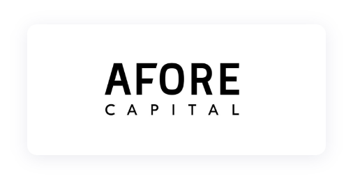 Logo of Afore Capital, one of our investors